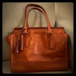 Coach Brown Leather Purse/ Bag